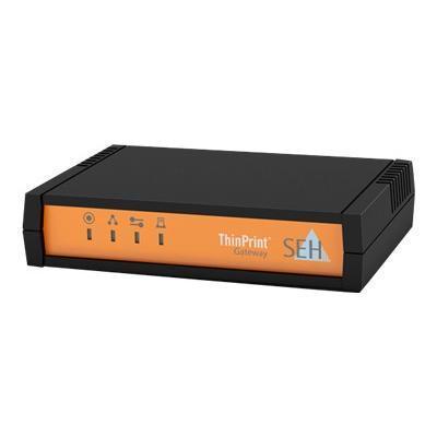SEH Technology M03882 ThinPrint Gateway TPG-65 - Print server - 10Mb LAN  USB  100Mb LAN  GigE  USB 2.0