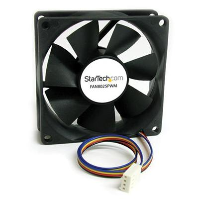 StarTech.com FAN8025PWM 80x25mm Computer Case Fan with PWM – Pulse Width Modulation Connector