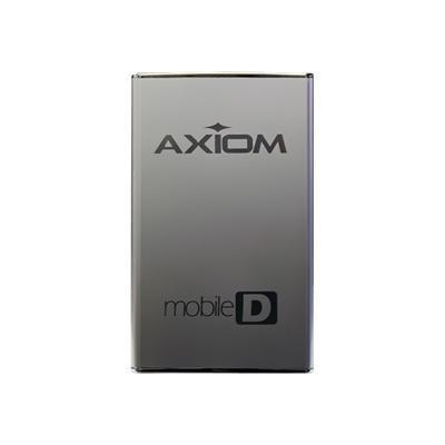 Axiom Memory USB3HD255320-AX 320GB Mobile-D Series 2.5 External Hard Drive