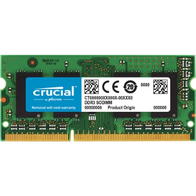 Crucial CT102464BF160B 8GB PC3-12800 1600MHZ DDR3
