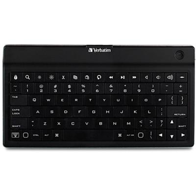 Verbatim 97753 Ultra-Slim Bluetooth Wireless Mobile Keyboard - Black