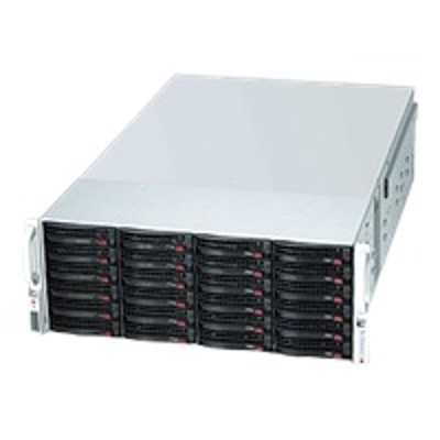 Super Micro CSE 847E26 RJBOD1 Supermicro SC847 E26 RJBOD1 Rack mountable 4U no power supply black