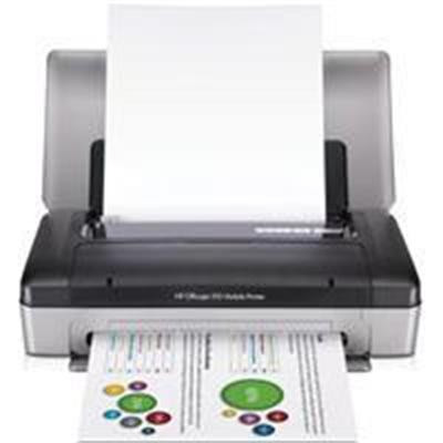 Officejet 100 Mobile Printer - Printer - color - ink-jet - Legal - 600 dpi x 600 dpi - up to 22 ppm (mono) / up to 18 ppm (color) - capacity: 50 sheets - USB B