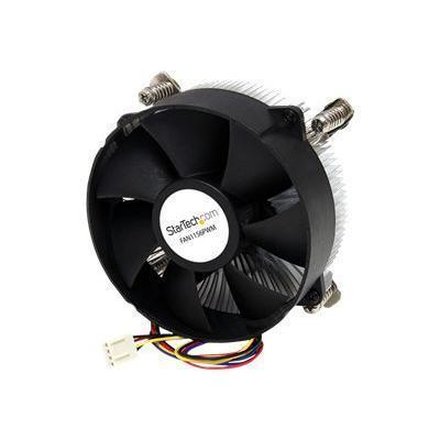 StarTech.com FAN1156PWM 95mm CPU Cooler Fan with Heatsink for Socket LGA1156/1155 with PWM - Processor cooler - (LGA1156 Socket  LGA1155 Socket) - aluminum - 95