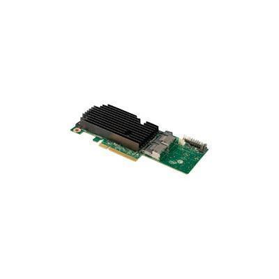 Intel RMS25PB080 Integrated RAID Module RMS25PB080 - Storage controller (RAID) - 8 Channel - SATA 6Gb/s / SAS 6Gb/s low profile - 600 MBps - RAID 0  1  5  6  10