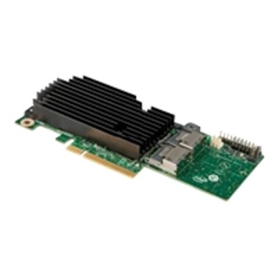 Intel RMS25KB080 Integrated RAID Module RMS25KB080 - Storage controller (RAID) - 8 Channel - SATA 6Gb/s / SAS 6Gb/s low profile - 600 MBps - RAID 0  1  10  1E -