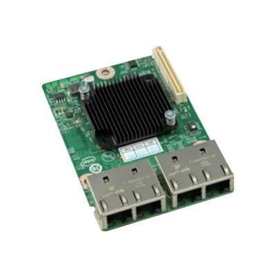 Intel AXX4P1GBPWLIOM Gigabit Quad Port I350-AE I/O Module - Network adapter - GigE - 4 ports