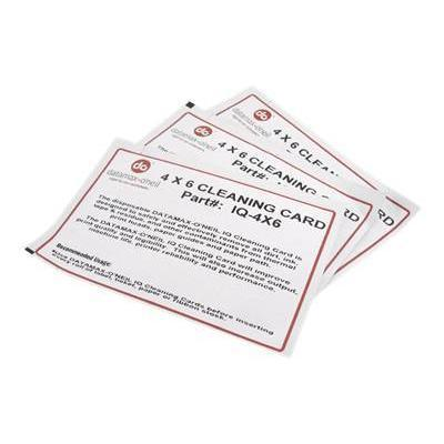 Datamax IQ-4X6 'Neil IQ - 1 - printer cleaning card kit (pack of 25 ) - for E-Class  H-Class  I-Class  M-Class