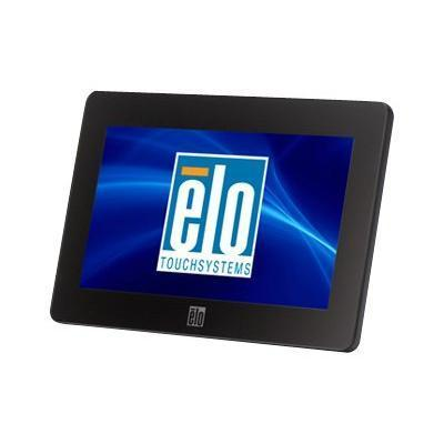 ELO Touch Solutions E791658 Touchmonitors 0700L AccuTouch - LED monitor - 7 - portable - touchscreen - 800 x 480 - 160 cd/m² - 500:1 - 25 ms - USB - black