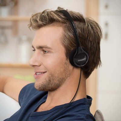 Koss Corporation KPH7 KPH7 - Headphones - on-ear - 3.5 mm plug