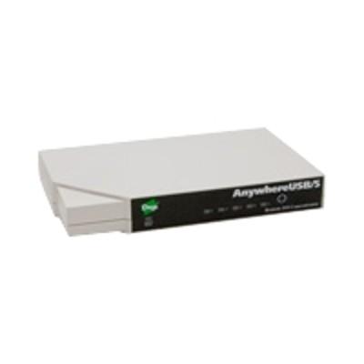 Digi AW-USB-5M AnywhereUSB /5 with Multi-Host Connections - Hub - 5 x USB - desktop