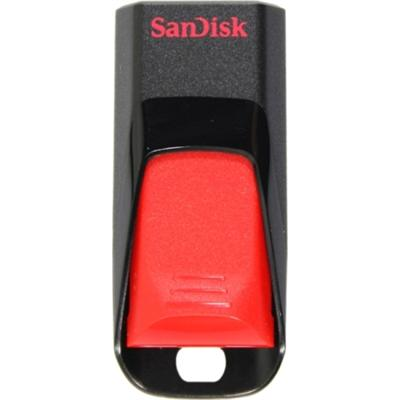 Sandisk SDCZ51-032G-B35 Cruzer Edge - USB flash drive - 32 GB - USB 2.0 - red