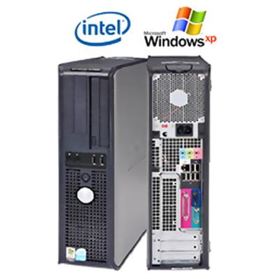 Optiplex GX620 3.2GHz Intel Pentium Dual Core WiFi Desktop PC - Refurbished