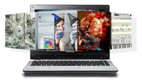 Samsung QX411-W01UB Notebook