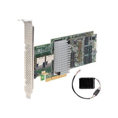 Intel RS25AB080 RAID Controller RS25AB080 Storage controller RAID 8 Channel SATA 6Gb s SAS 6Gb s low profile 600 MBps RAID 0 1 5 6 10 50 60