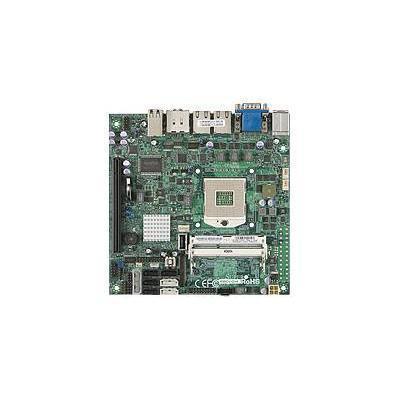 Super Micro X9SCV-QV4-O SUPERMICRO X9SCV-QV4 - Motherboard - mini ITX - Socket G2 - QM67 - 2 x Gigabit LAN - onboard graphics (CPU required) - HD Audio