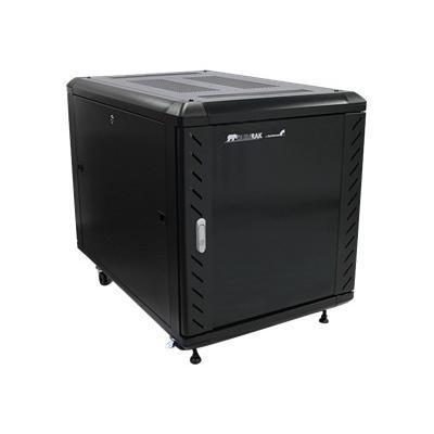 StarTech.com RK1236BKF 12U 36in Knock-Down Server Rack Cabinet with Casters