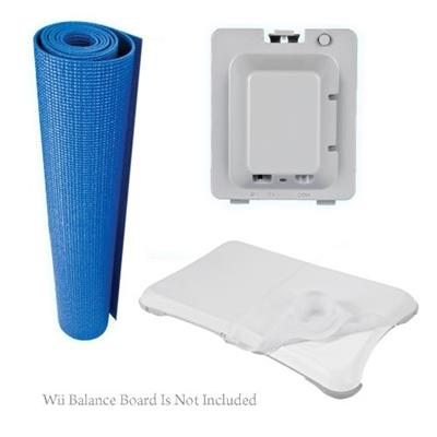 CTA Digital CTAWIWFKKIT 3 in 1 Combo Kit for Wii Fit