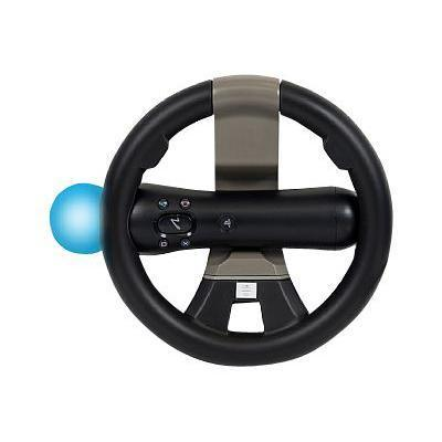 Cta Digital Psm-rw Racing Wheel For Playstation Move & Dualshock Controllers - Steering Wheel Attachment - For Sony Playstation 3