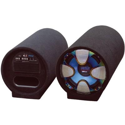 Pyle PLTAB12 12'' 800 Watt Amplified Subwoofer Tube