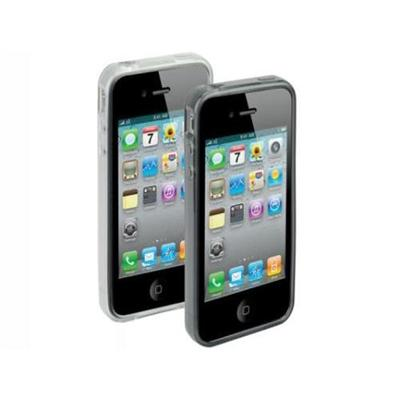 glosSEE g4 - 2 Pack of Flexible Rubber Cases for iPhone 4S and 4