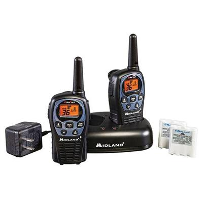 Midland LXT560VP3 Up to 26 Mile Two-Way Radios