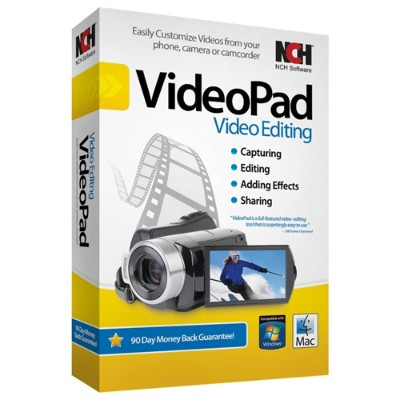 NCH Software RET-VPW001 VideoPad - Box pack - Win