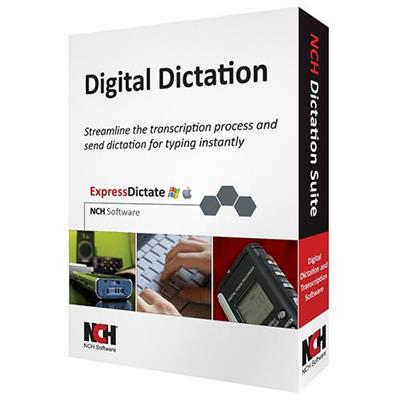 NCH Software RET-DIC001 Dictation Transcription Suite