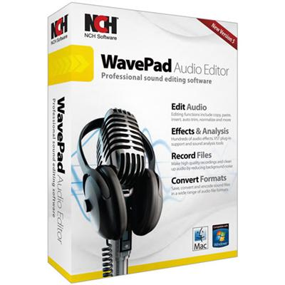 NCH Software RET-WP005 WavePad 5 Audio Editor