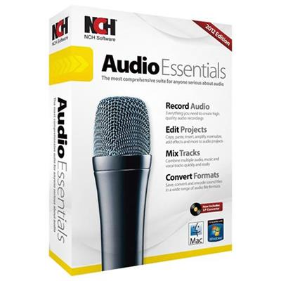 NCH Software RET-AE001 Audio Essentials Suite Win Mac