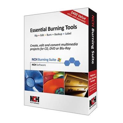 NCH Software RET-BSW001 Burning Suite Platinum Create