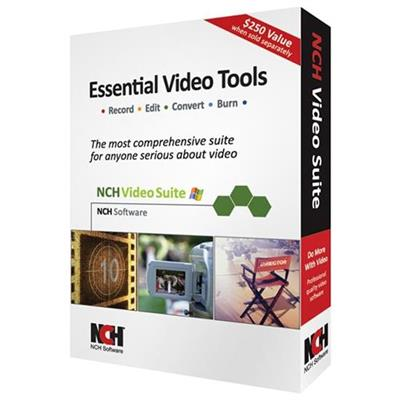 NCH Software RET-VIDW001 Nch Sw Video Suite Record