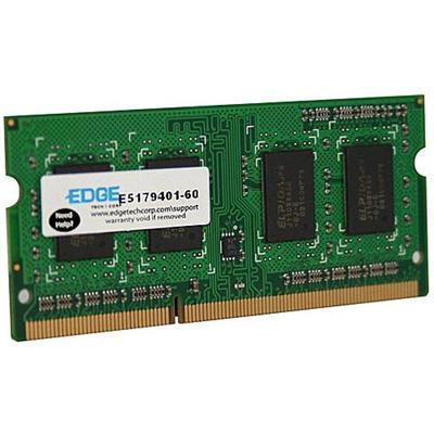 Edge Memory PE231644 2GB (1X2GB) PC3-12800 DDR3 SDRAM SODIMM 204-pin Memory Module