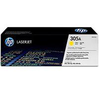HP 305A Yellow LaserJet Toner Cartridge with Smart Printing Technology