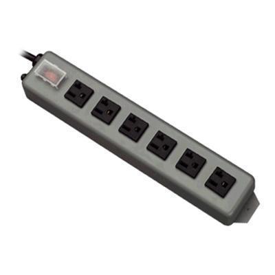 TrippLite UL620-15 Waber Industrial Power Strip 6 outlet 15' Cord 5-20P - Power distribution strip - 20 A - AC 120 V - input: NEMA 5-20 - output connectors: 6 (