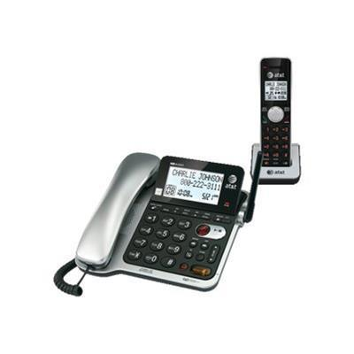 AT&T CL84102 Corded / Cordless Answering System with Caller ID / Call Waiting