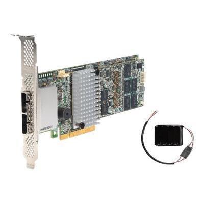 Intel RS25SB008 RAID Controller RS25SB008 - Storage controller (RAID) - 8 Channel - SATA 6Gb/s / SAS 6Gb/s - 6 GBps - RAID 1  5  6  10  50  60 - PCIe 2.0 x8