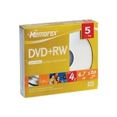 Memorex 32025514 DVD+Rw 4.7GB 4X L Sjc 5Pk