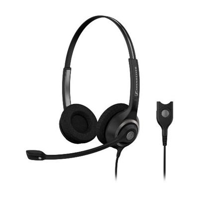 Sennheiser Electronic Sc260 Sc 260 Dual-sided Wideband Headset