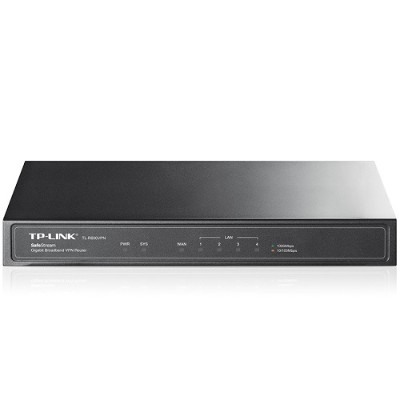 TP-Link TL-R600VPN SafeStream TL-R600VPN - Router - 4-port switch - GigE