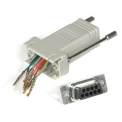 Cables To Go 02945 Network adapter - RJ-45 (F) to DB-9 (M) - gray