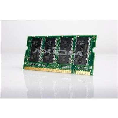 Axiom Memory A0743530-AX AX - DDR - 1 GB - SO-DIMM 200-pin - 333 MHz / PC2700 - unbuffered - non-ECC - for Dell Latitude D400