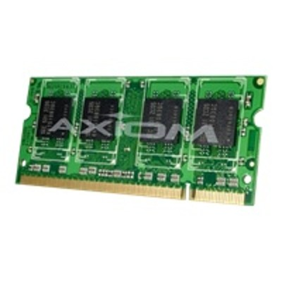 Axiom Memory A1229415-AX AX - DDR2 - 1 GB - SO-DIMM 200-pin - 800 MHz / PC2-6400 - unbuffered - non-ECC - for Dell Vostro 1000