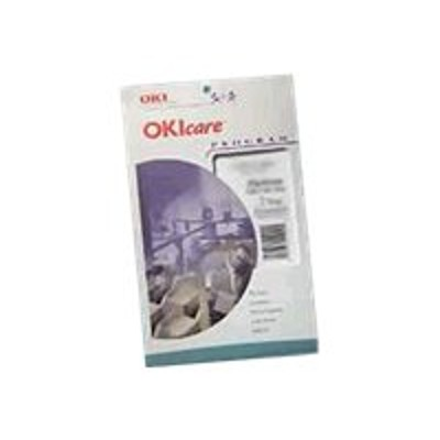 Oki 38012112 care Overnight Exchange - Extended service agreement - express exchange - 2 years - on-site - response time: NBD - for MB 460  470  480