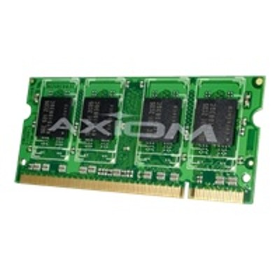 Axiom Memory A1640960-AX AX - DDR2 - 1 GB - SO-DIMM 200-pin - 800 MHz / PC2-6400 - unbuffered - non-ECC - for Dell Vostro 1710