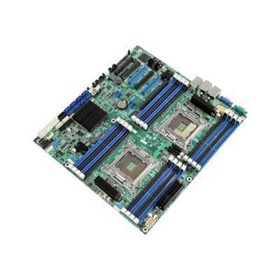 Server Board S2600CP4 - motherboard - SSI EEB - LGA2011 Socket - C600-A - with Integrated RAID Module RMS25KB080