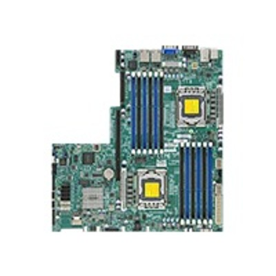Super Micro MBD-X9DBU-IF-B SUPERMICRO X9DBU-iF - Motherboard - LGA1356 Socket - 2 CPUs supported - C602 - 2 x Gigabit LAN - onboard graphics