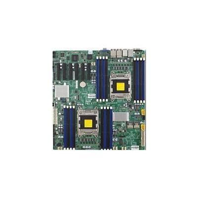 Super Micro MBD-X9DRD-7LN4F-B SUPERMICRO X9DRD-7LN4F - Motherboard - extended ATX - LGA2011 Socket - 2 CPUs supported - C602J - 4 x Gigabit LAN - onbo
