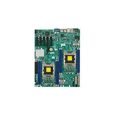 Super Micro MBD-X9DRD-IF-B SUPERMICRO X9DRD-iF - Motherboard - extended ATX - LGA2011 Socket - 2 CPUs supported - C602 - 2 x Gigabit LAN - onboard gra