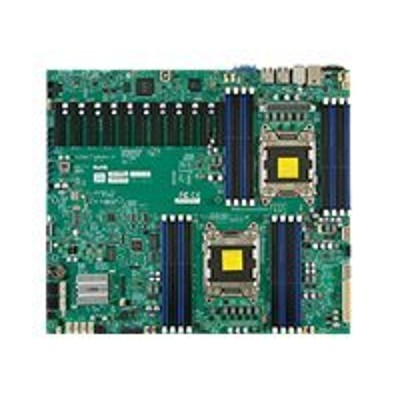 Super Micro MBD X9DRX F B SUPERMICRO X9DRX F Motherboard LGA2011 Socket 2 CPUs supported C602 2 x Gigabit LAN onboard graphics